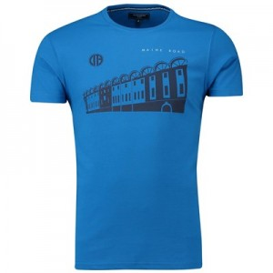 Manchester City Terrace Maine Road Tshirt - Blue - Mens