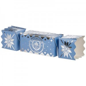 Manchester City Christmas Sweet Cracker