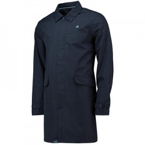 Manchester City Terrace Coach Coat - Navy - Mens