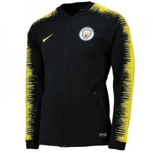 Manchester City Anthem Jacket - Black