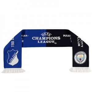 Manchester City v TSG Hoffenheim UEFA Champions League Friendship Scarf