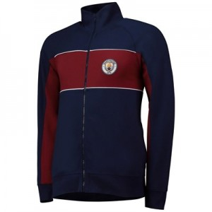 Manchester City Cut And Sew Track Jacket - Navy - Mens