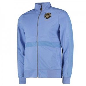 Manchester City 125 Years Track Jacket - Sky - Mens