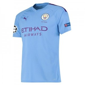 Manchester City Authentic UEFA Home Shirt 2019-20