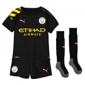 Manchester City Away Mini Kit 2019-20
