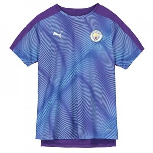 Manchester City Stadium Jersey - Purple - Kids