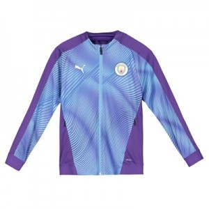 Manchester City Stadium Jacket - Purple - Kids
