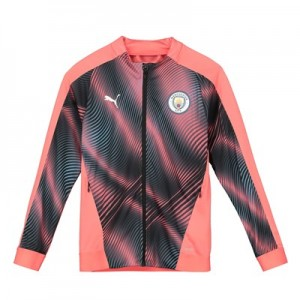 Manchester City Stadium Jacket - Pink - Kids