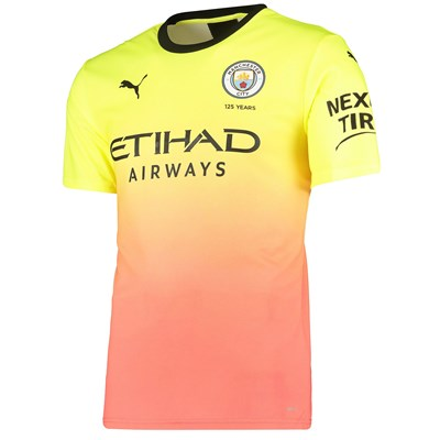 Manchester City Authentic Third Shirt 2019-20
