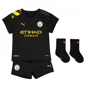 Manchester City Away Baby Kit 2019-20