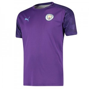 Manchester City Training Jersey - Purple