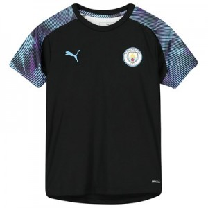 Manchester City Training Jersey - Black - Kids