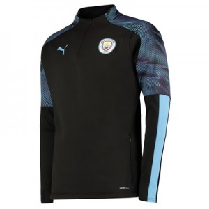 Manchester City Training Fleece - Black