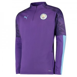 Manchester City Training Fleece - Purple