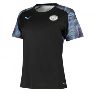 Manchester City Training Jersey - Black - Womens