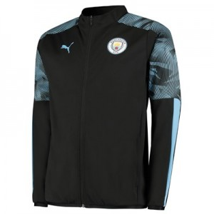 Manchester City Training Woven Jacket - Black