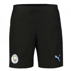 Manchester City Training Woven Shorts - Black