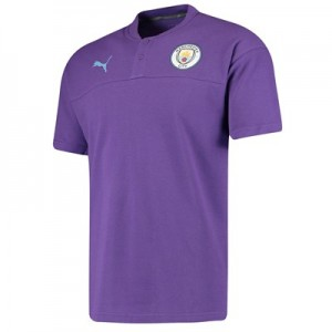 Manchester City Casuals Polo - Purple