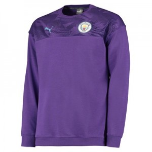 Manchester City Casuals Sweatshirt - Purple