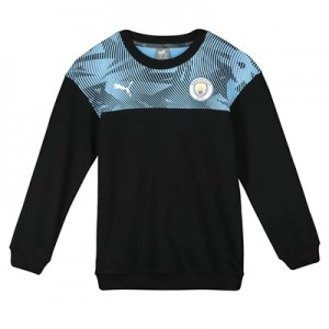 Manchester City Casuals Sweatshirt - Black - Kids