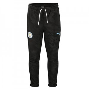 Manchester City Casuals Sweat Pant - Black