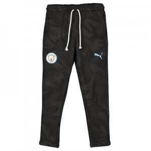 Manchester City Casuals Sweat Pant - Black - Kids
