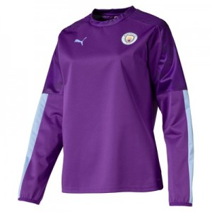 Manchester City Training Rain Top - Purple - Womens