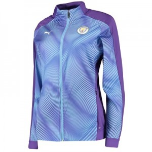 Manchester City Stadium Jacket - Purple - Womens