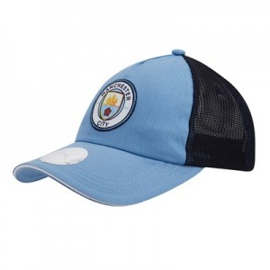 Manchester City Mesh Cap - Light Blue