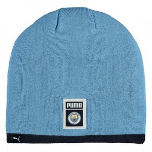 Manchester City DNA Reversible Beanie - Navy
