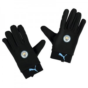 Manchester City Field Player Gloves - Black