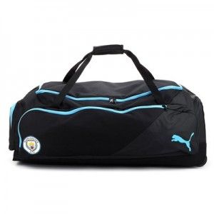 Manchester City XXL Wheel Bag - Light blue