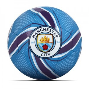 Manchester City Future Flare Football - Light Blue