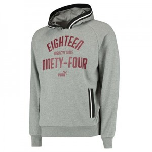Manchester City Urban Varsity Hoody - Grey