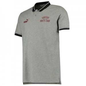 Manchester City Urban Varsity Polo - Grey
