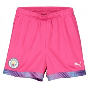 Manchester City Away Goalkeeper Shorts 2019-20 - Kids