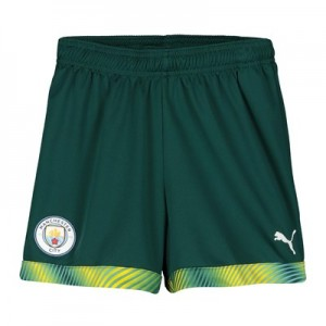 Manchester City Home Goalkeeper Shorts 2019-20 - Kids