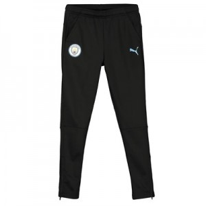 Manchester City Training Pant - Black - Kids
