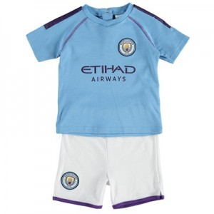 Manchester City Kit Shorts and T-Shirt Set - Sky Blue - Baby