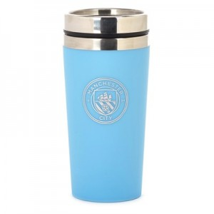 Manchester City Soft Touch Travel Mug