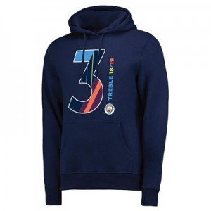Manchester City Magic Number Hoodie - Navy - Mens