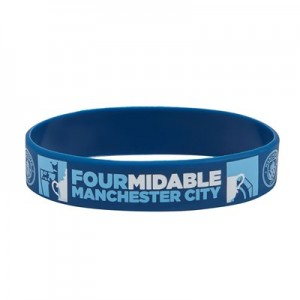 Manchester City FOURMIDABLE Silicone Wristband