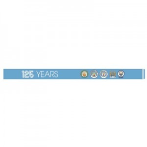 Manchester City 125 Years Silicone Wristband