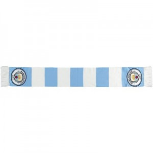 Manchester City Bar Scarf - Sky / White - Adult
