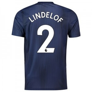 Manchester United Third Shirt 2018-19 with Lindelof 2 printing