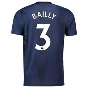 Manchester United Third Shirt 2018-19 with Bailly 3 printing