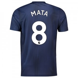 Manchester United Third Shirt 2018-19 with Mata 8 printing