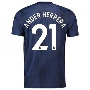 Manchester United Third Shirt 2018-19 with Ander Herrera 21 printing