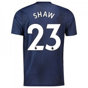 Manchester United Third Shirt 2018-19 with Shaw 23 printing
