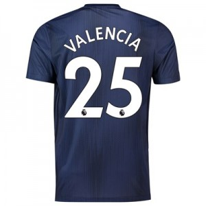Manchester United Third Shirt 2018-19 with Valencia 25 printing